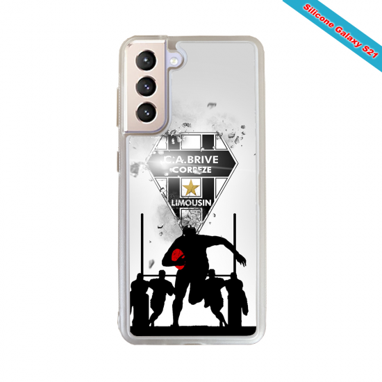 Coque silicone Huawei P9 Fan de Rugby Montpellier Graffiti