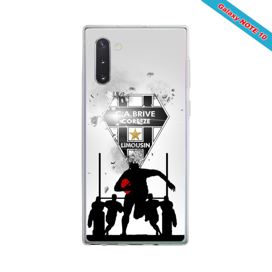 Coque silicone Huawei P20 Fan de Rugby Montpellier Graffiti