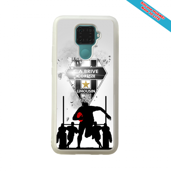 Coque silicone Huawei P40 Fan de Rugby Montpellier Graffiti