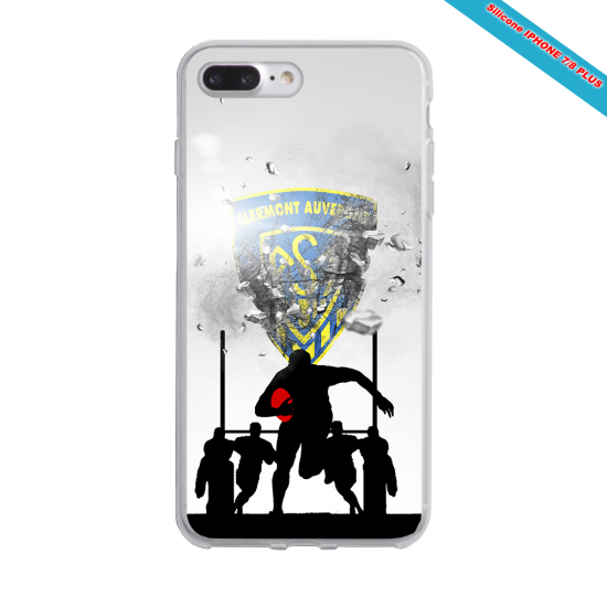 Coque silicone Galaxy A30S Fan de Rugby Pau Graffiti