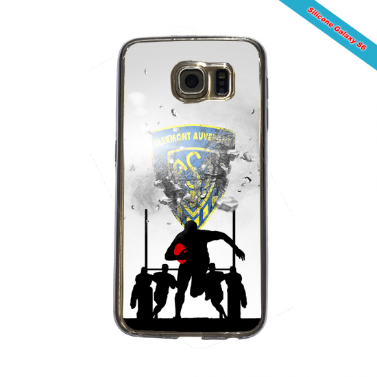 Coque Silicone Note 9 Fan de Rugby Pau Graffiti