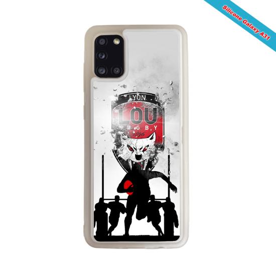 Coque Silicone Galaxy S7 EDGE Fan de Rugby Racing 92 Graffiti