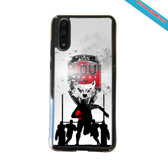 Coque silicone Iphone 11 Pro Max Fan de Rugby La Rochelle Graffiti