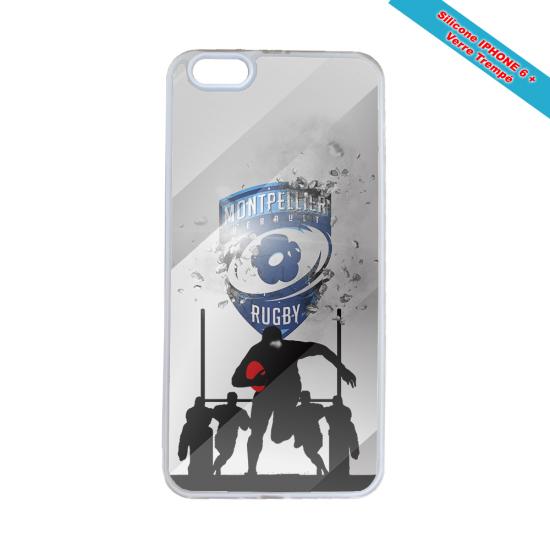 Coque silicone Galaxy A50 Fan de Rugby La Rochelle Graffiti