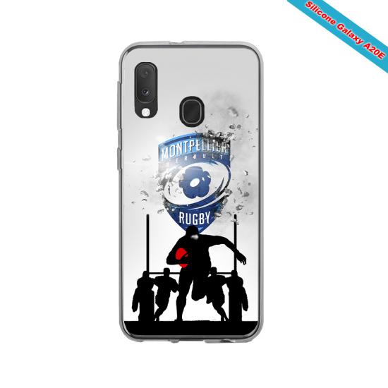 Coque Silicone Galaxy S7 EDGE Fan de Rugby La Rochelle Graffiti