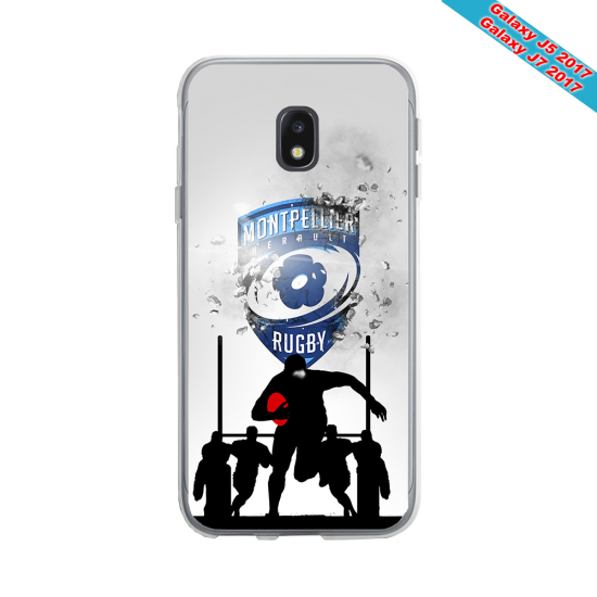 Coque Silicone Note 9 Fan de Rugby La Rochelle Graffiti