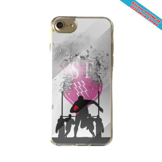 Coque silicone Galaxy M31 Fan de Rugby Toulon Graffiti