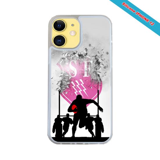 Coque Silicone Galaxy S6 EDGE Fan de Rugby Toulon Graffiti