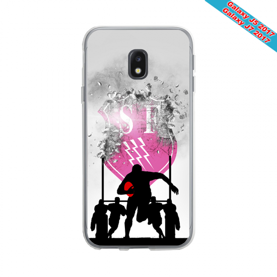 Coque Silicone Note 9 Fan de Rugby Toulon Graffiti