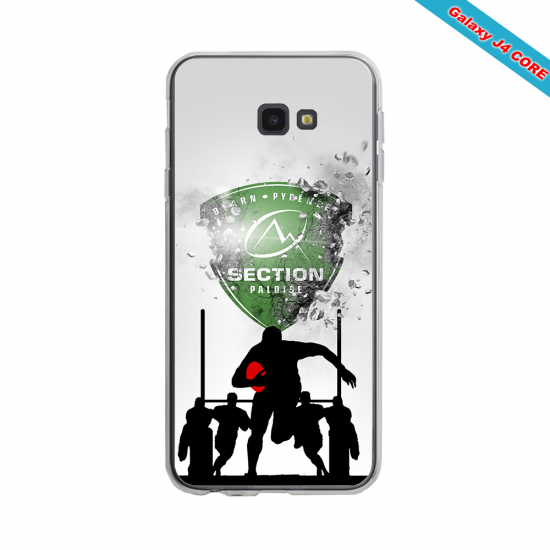 Coque Silicone Note 9 Fan de Rugby Toulouse Graffiti