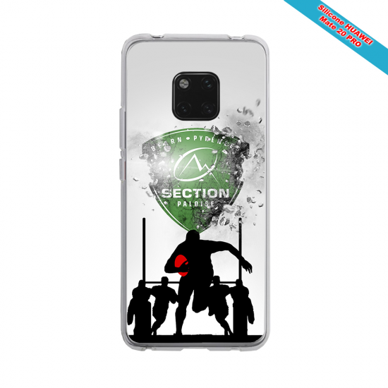 Coque silicone Iphone 11 Pro Max Fan de Rugby Agen Géometrics
