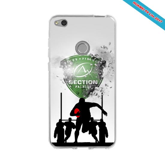 Coque silicone Iphone 12 PRO Fan de Rugby Agen Géometrics