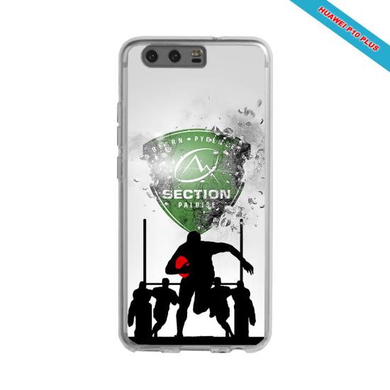 Coque silicone Galaxy A20E Fan de Rugby Agen Géometrics