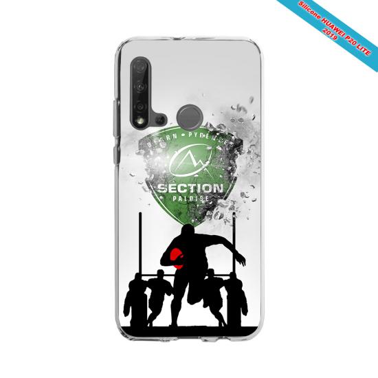 Coque silicone Galaxy A30S Fan de Rugby Agen Géometrics
