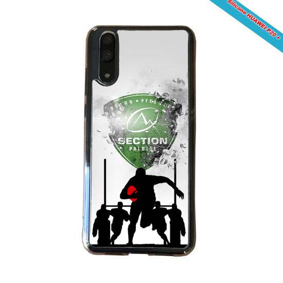 Coque silicone Galaxy A31 Fan de Rugby Agen Géometrics