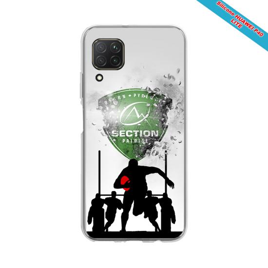 Coque silicone Galaxy A71 Fan de Rugby Agen Géometrics