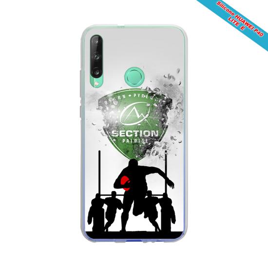 Coque silicone Galaxy J3 2016 Fan de Rugby Agen Géometrics