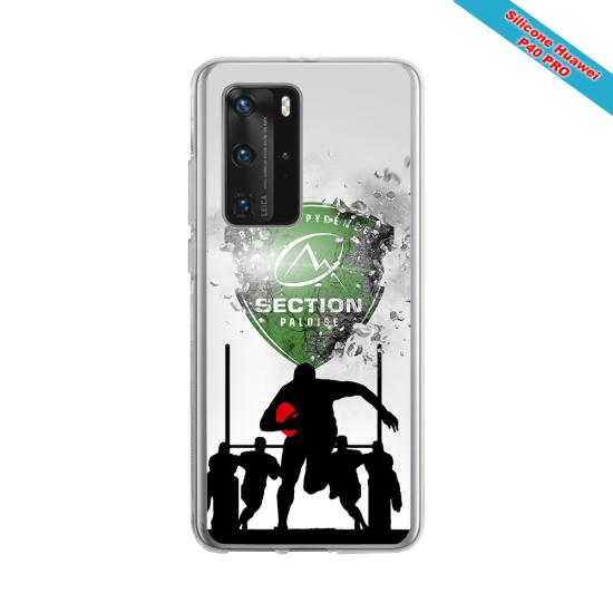 Coque silicone Galaxy J3 2017 Fan de Rugby Agen Géometrics