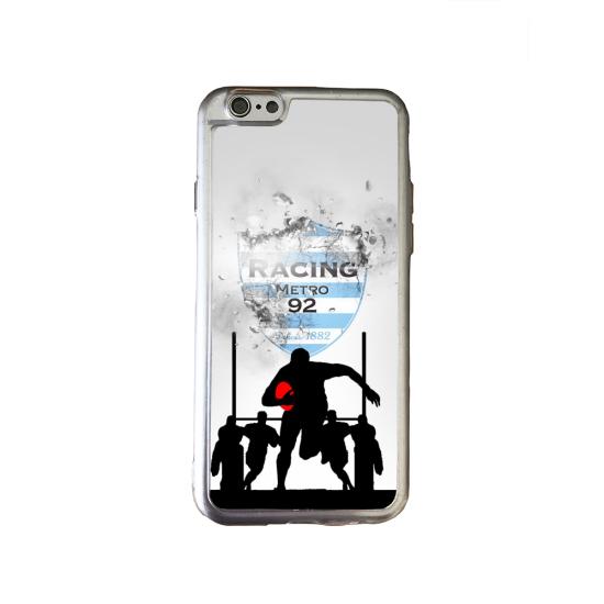 Coque silicone Galaxy J4 CORE Fan de Rugby Agen Géometrics