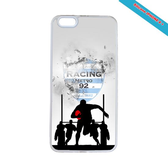 Coque silicone Galaxy J5 2016 Fan de Rugby Agen Géometrics