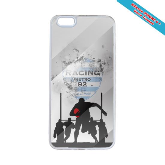 Coque silicone Galaxy J5 2017 Fan de Rugby Agen Géometrics