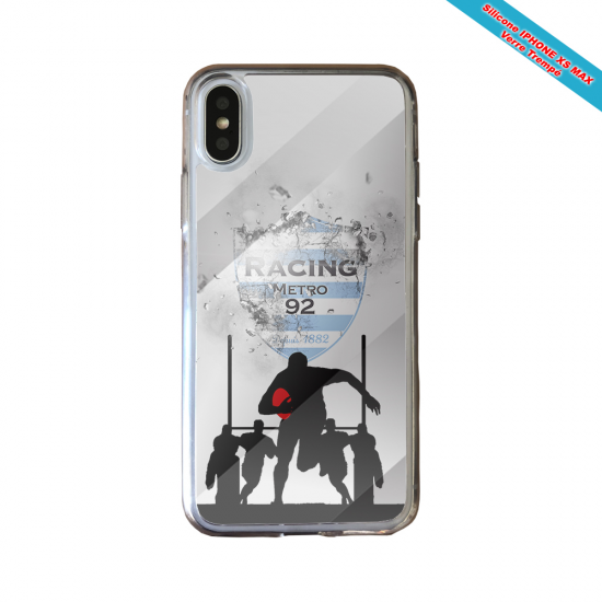 Coque silicone Galaxy M31 Fan de Rugby Agen Géometrics