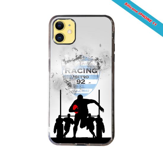 Coque Silicone Galaxy S6 Fan de Rugby Agen Géometrics