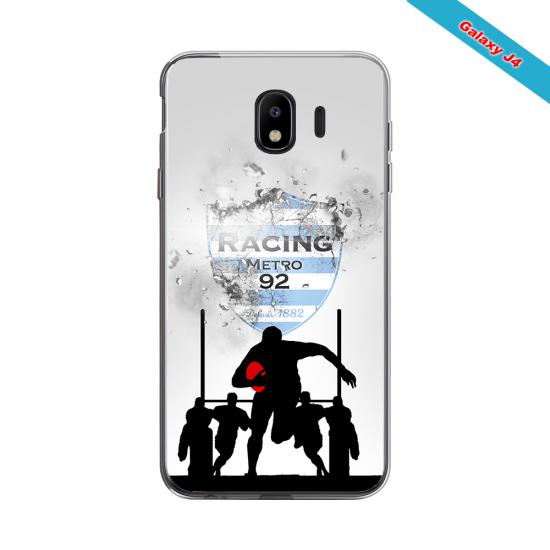 Coque silicone Huawei Mate 10 LITE Fan de Rugby Agen Géometrics