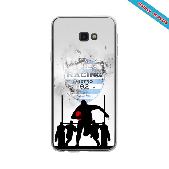 Coque silicone Huawei Mate 20 Fan de Rugby Agen Géometrics