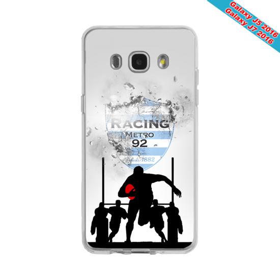 Coque silicone Huawei Mate 20 LITE Fan de Rugby Agen Géometrics