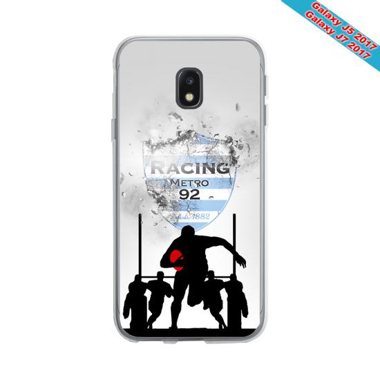 Coque silicone Huawei Mate 20 PRO Fan de Rugby Agen Géometrics