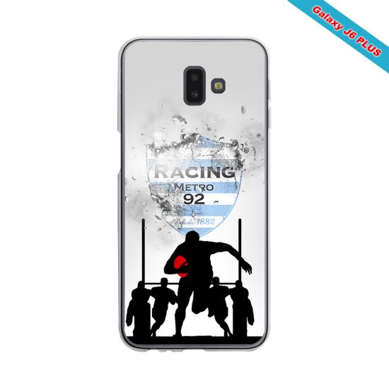 Coque silicone Huawei Mate 30 LITE Fan de Rugby Agen Géometrics