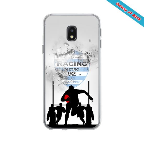 Coque silicone Huawei P8 lite 2017 Fan de Rugby Agen Géometrics