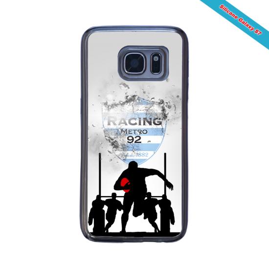 Coque silicone Huawei P20 LITE 2019 Fan de Rugby Agen Géometrics