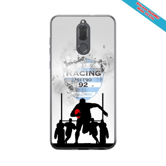 Coque silicone Iphone 11 Pro Max Fan de Rugby Bayonne Géometrics