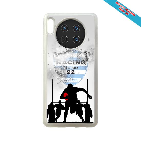 Coque silicone Iphone 12 PRO Fan de Rugby Bayonne Géometrics