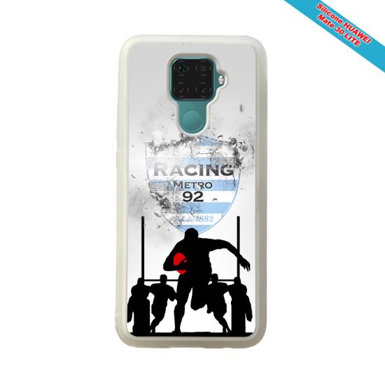 Coque silicone Iphone 12 PRO MAX Fan de Rugby Bayonne Géometrics