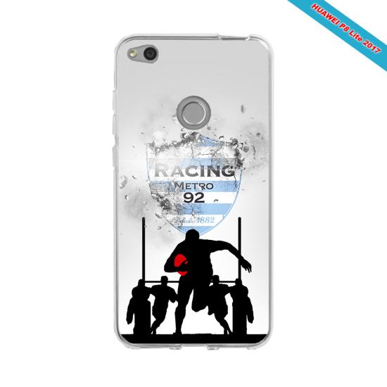 Coque silicone Galaxy A20-A30 Fan de Rugby Bayonne Géometrics