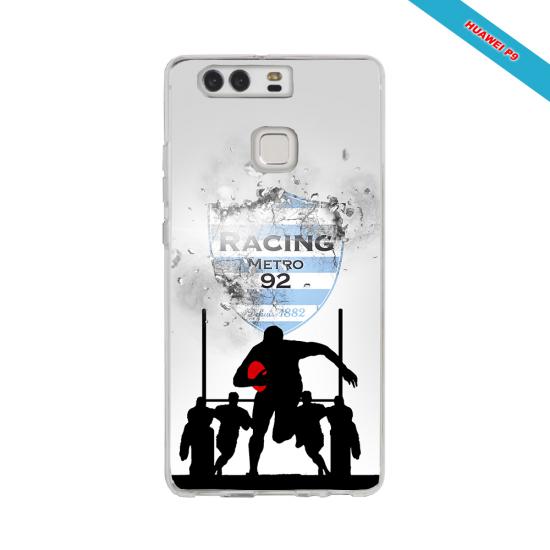 Coque silicone Galaxy A20E Fan de Rugby Bayonne Géometrics