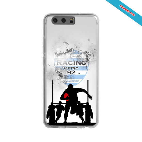 Coque silicone Galaxy A21S Fan de Rugby Bayonne Géometrics