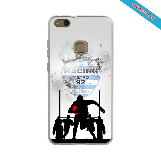Coque silicone Galaxy A30S Fan de Rugby Bayonne Géometrics