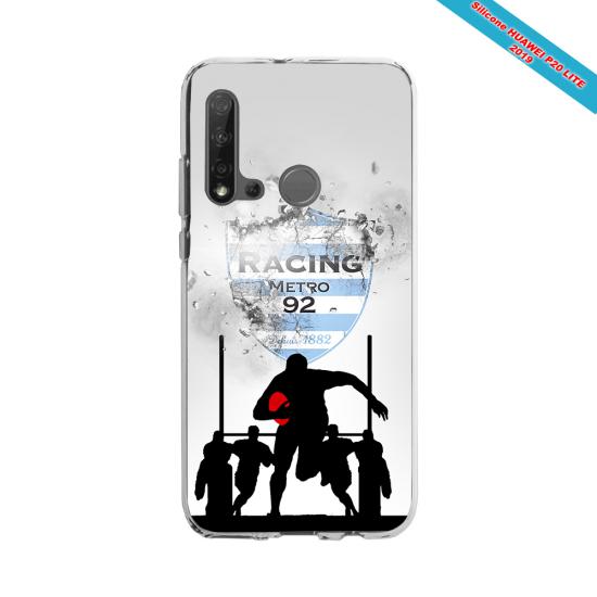 Coque silicone Galaxy A50 Fan de Rugby Bayonne Géometrics