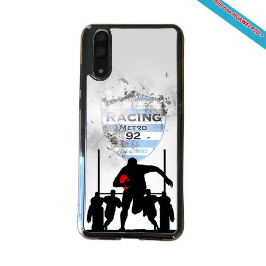 Coque silicone Galaxy A51 Fan de Rugby Bayonne Géometrics