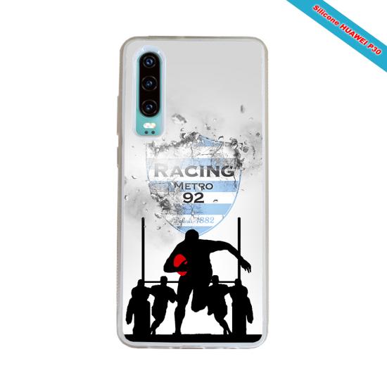 Coque silicone Galaxy A70 Fan de Rugby Bayonne Géometrics