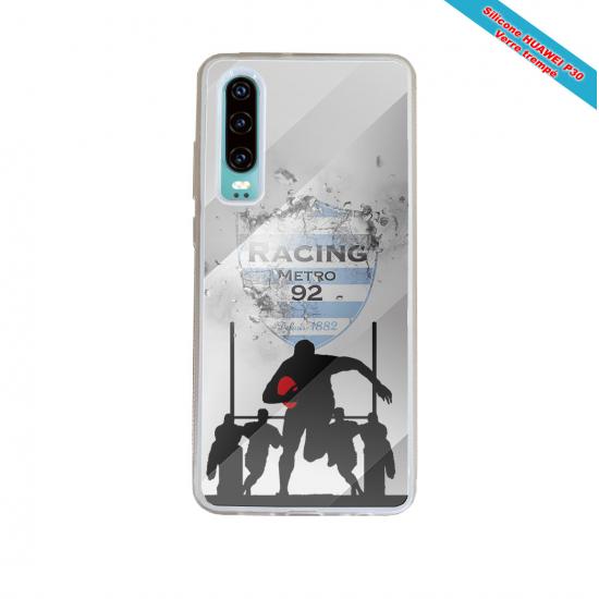 Coque silicone Galaxy A71 Fan de Rugby Bayonne Géometrics