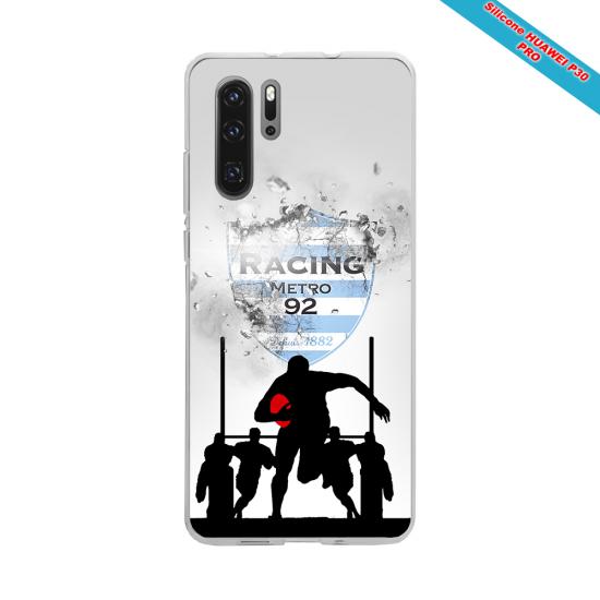Coque silicone Galaxy J3 2017 Fan de Rugby Bayonne Géometrics