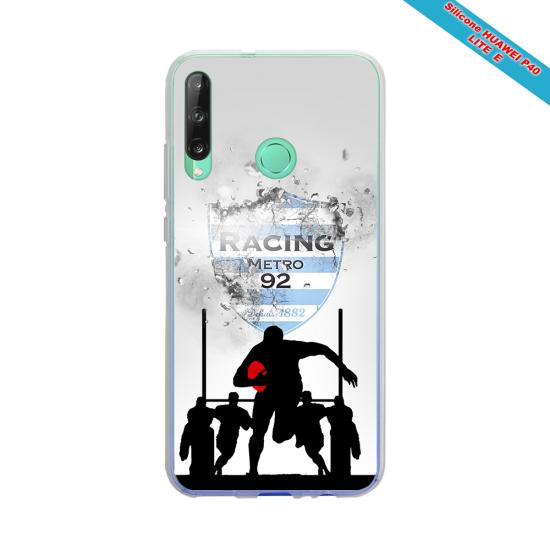Coque silicone Galaxy J4 CORE Fan de Rugby Bayonne Géometrics