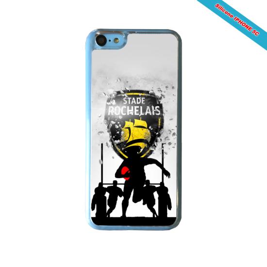 Coque silicone Galaxy J5 2017 Fan de Rugby Bayonne Géometrics