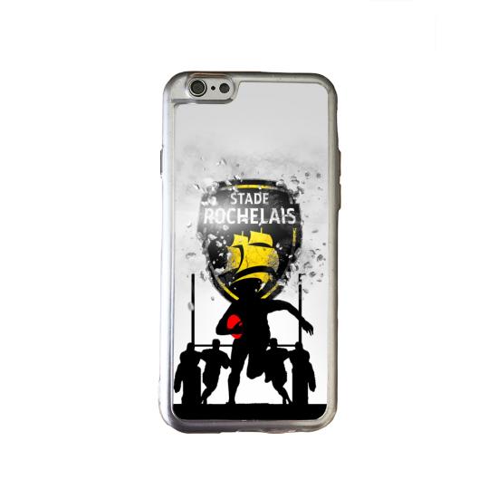 Coque silicone Galaxy J6 Fan de Rugby Bayonne Géometrics