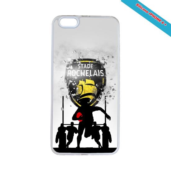 Coque silicone Galaxy J7 2016 Fan de Rugby Bayonne Géometrics